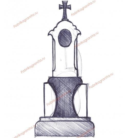 Эскиз памятника EZ-001