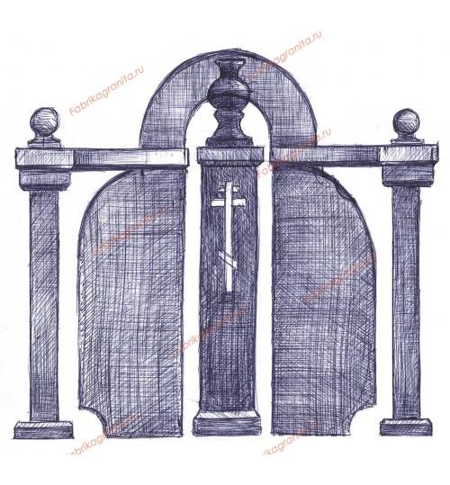 Эскиз памятника EZ-010