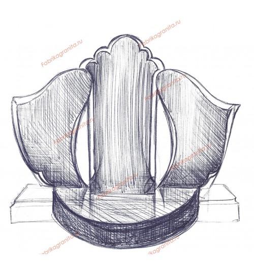 Эскиз памятника EZ-011