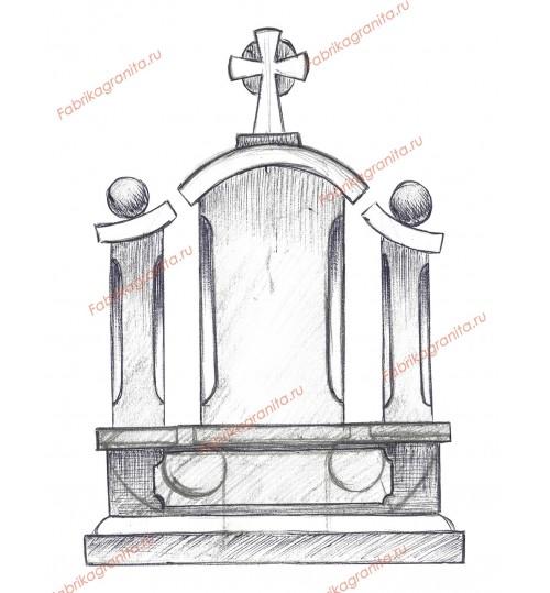 Эскиз памятника EZ-015
