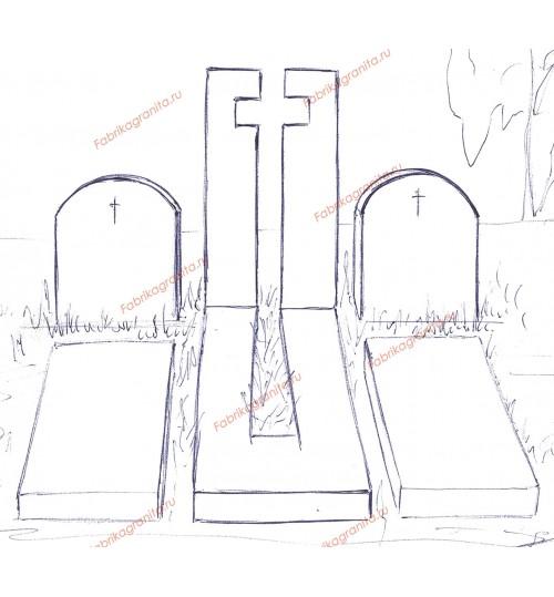 Эскиз памятника EZ-017