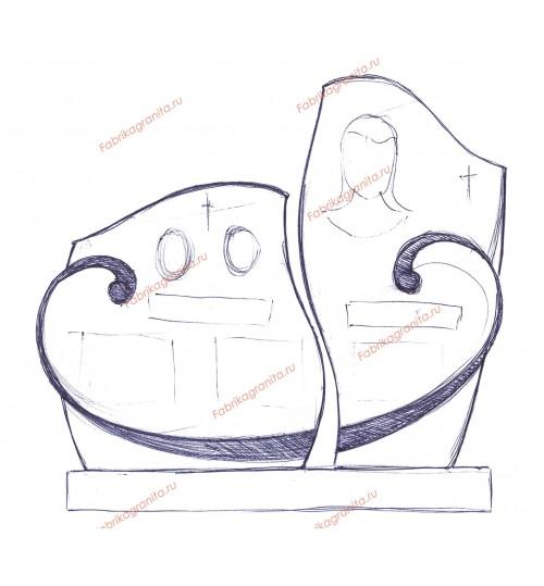 Эскиз памятника EZ-018