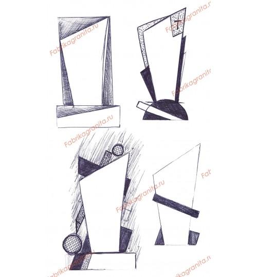 Эскиз памятника EZ-019