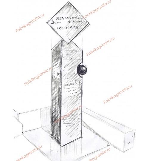Эскиз памятника EZ-002