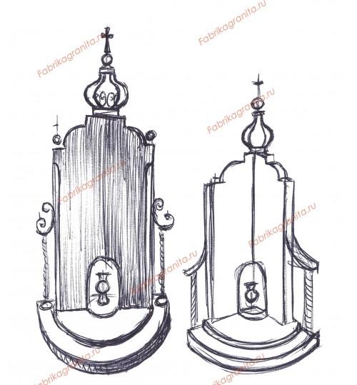 Эскиз памятника EZ-021