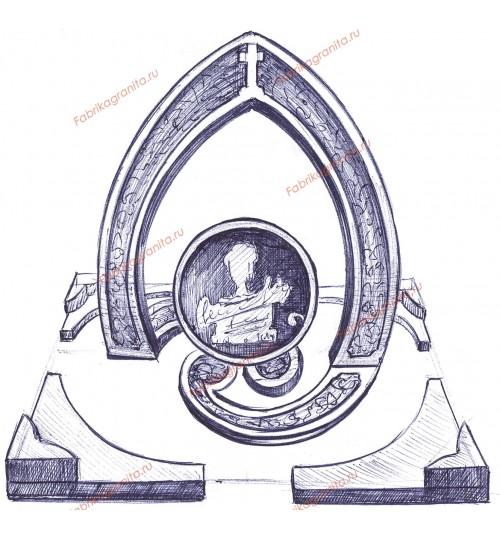 Эскиз памятника EZ-006