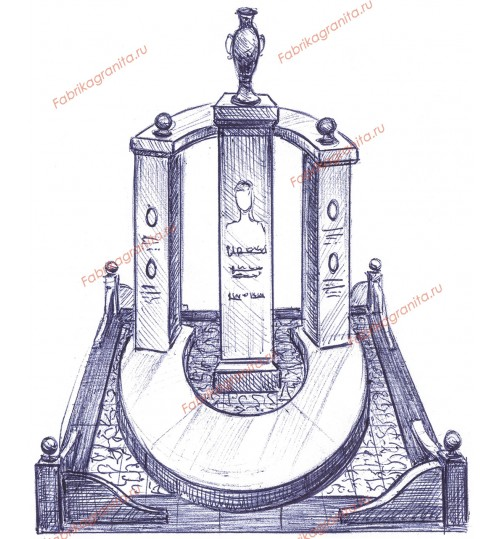 Эскиз памятника EZ-007