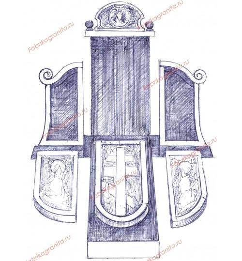 Эскиз памятника EZ-008