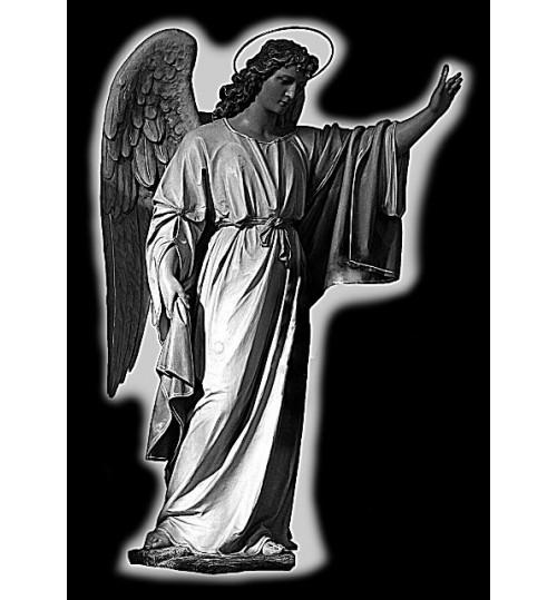 Гравировка «Ангел» 001