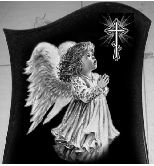 Гравировка «Ангел» 002