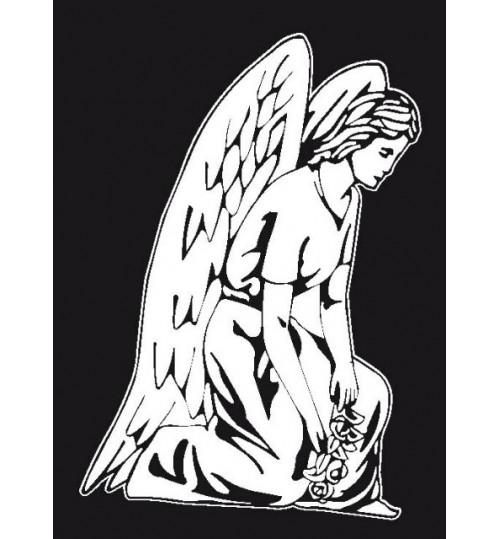 Гравировка «Ангел» 005