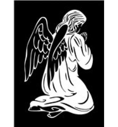 Гравировка «Ангел» 008