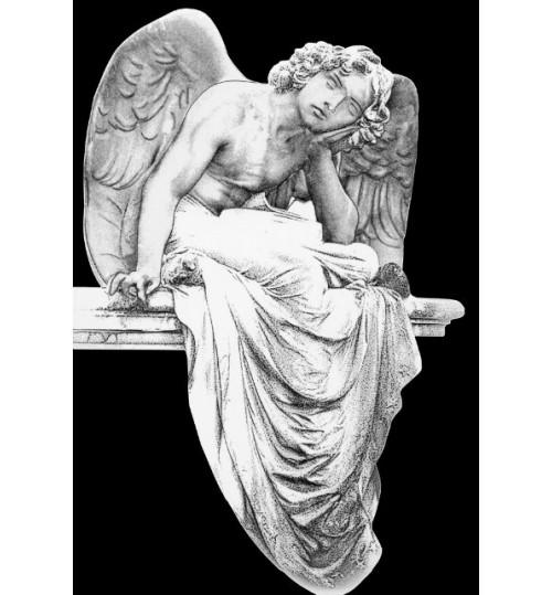 Гравировка «Ангел» 009