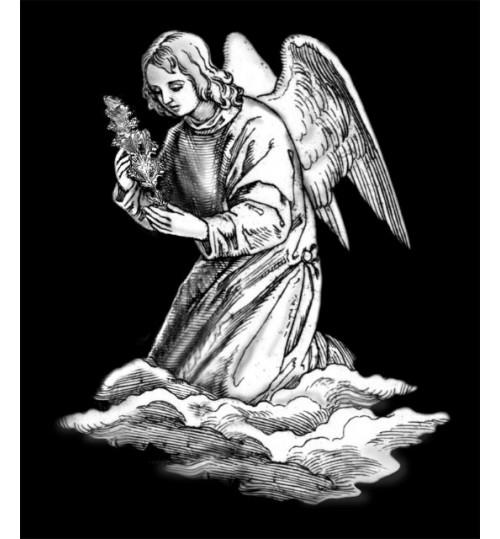 Гравировка «Ангел» 010