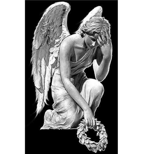 Гравировка «Ангел» 011
