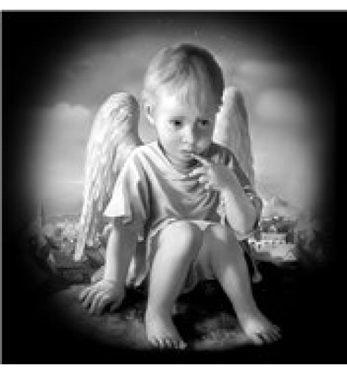 Гравировка «Ангел» 013