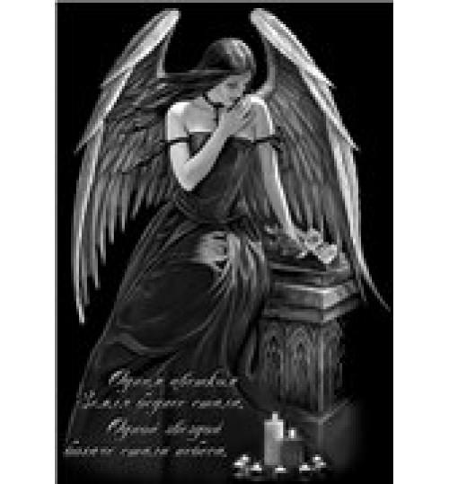 Гравировка «Ангел» 015