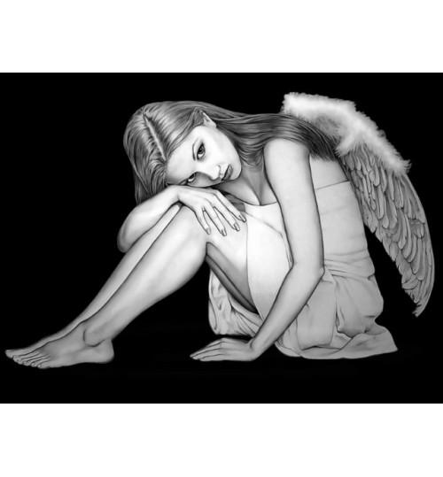 Гравировка «Ангел» 016