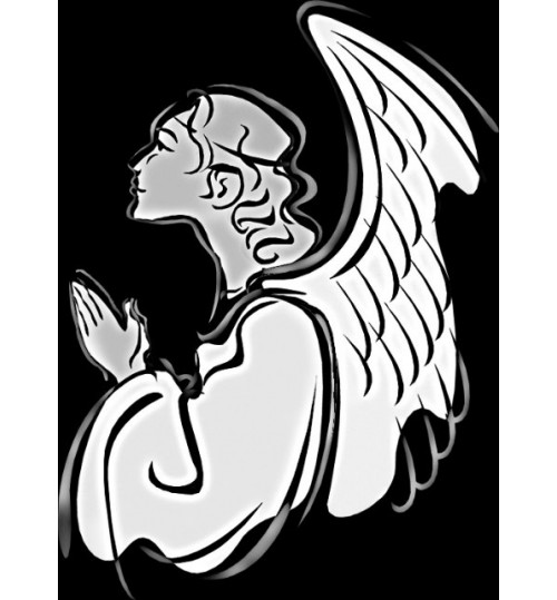 Гравировка «Ангел» 018