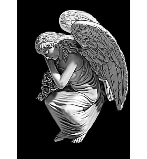 Гравировка «Ангел» 027