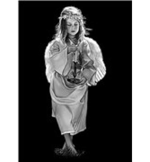 Гравировка «Ангел» 029