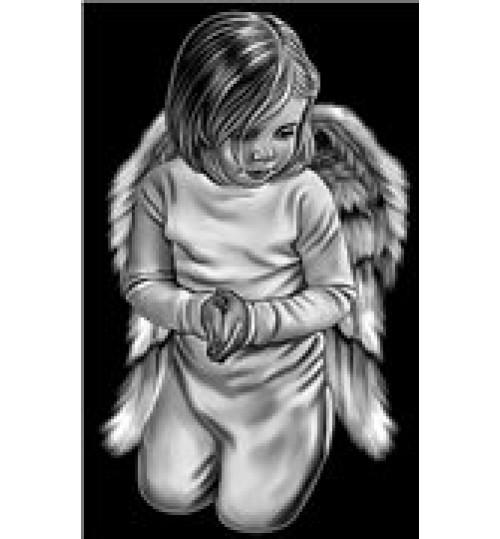 Гравировка «Ангел» 033