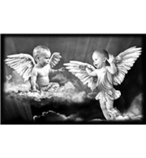 Гравировка «Ангел» 034