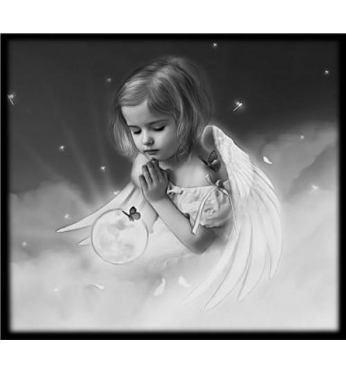 Гравировка «Ангел» 035