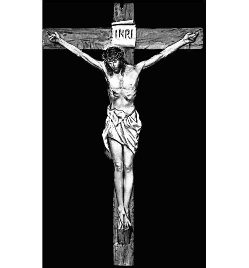 Гравировка «Крест» 005