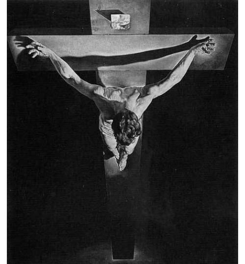Гравировка «Крест» 008