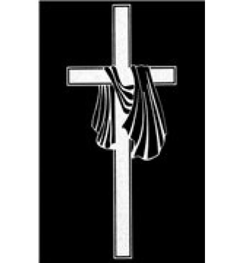 Гравировка «Крест» 011