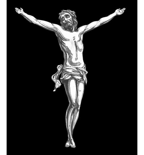 Гравировка «Крест» 014