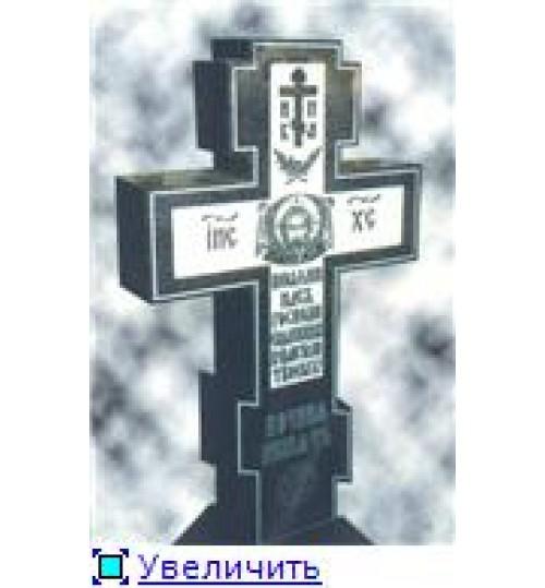 Гравировка «Крест» 017